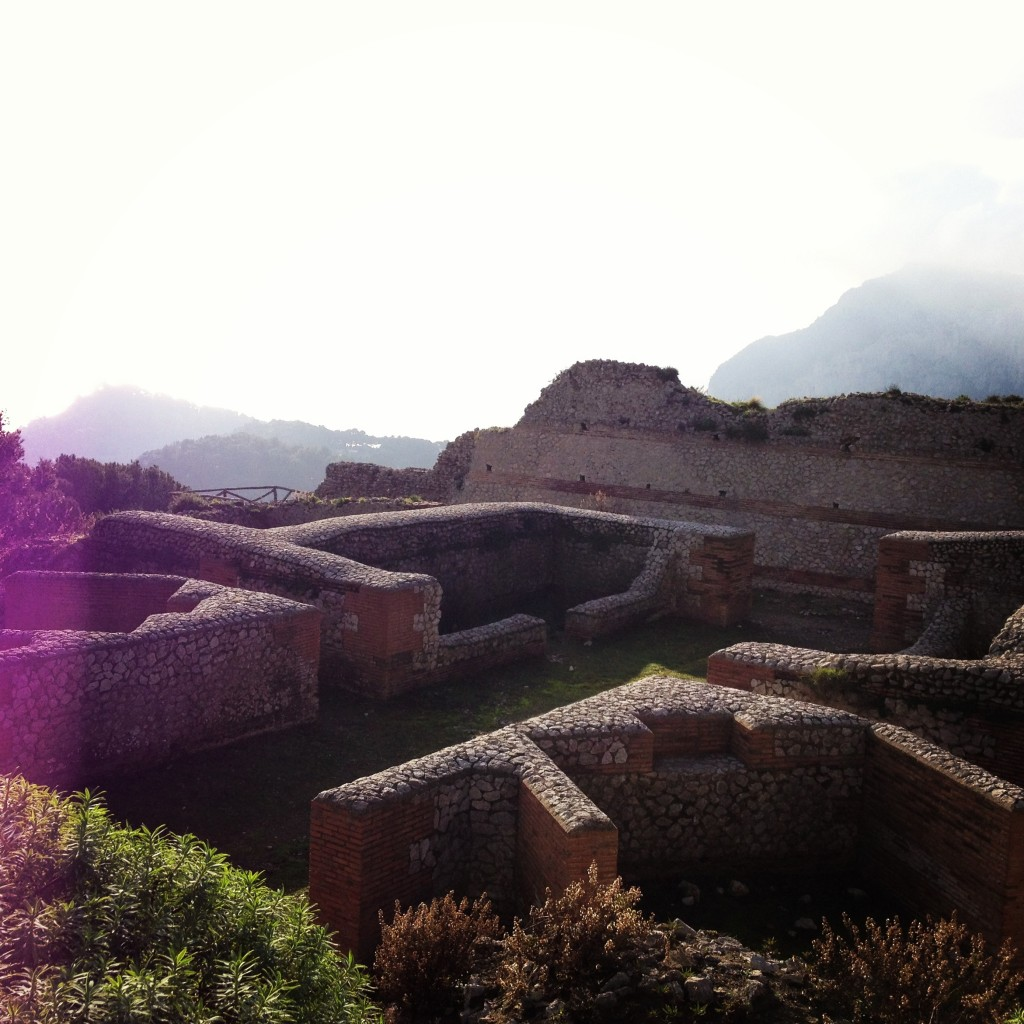 Villa Jovis, Roman ruins