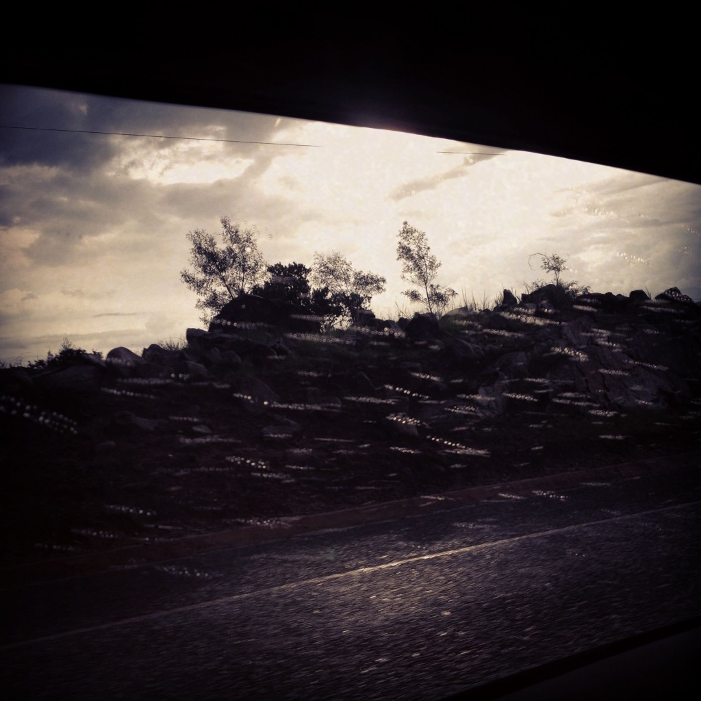 The road to Swaziland