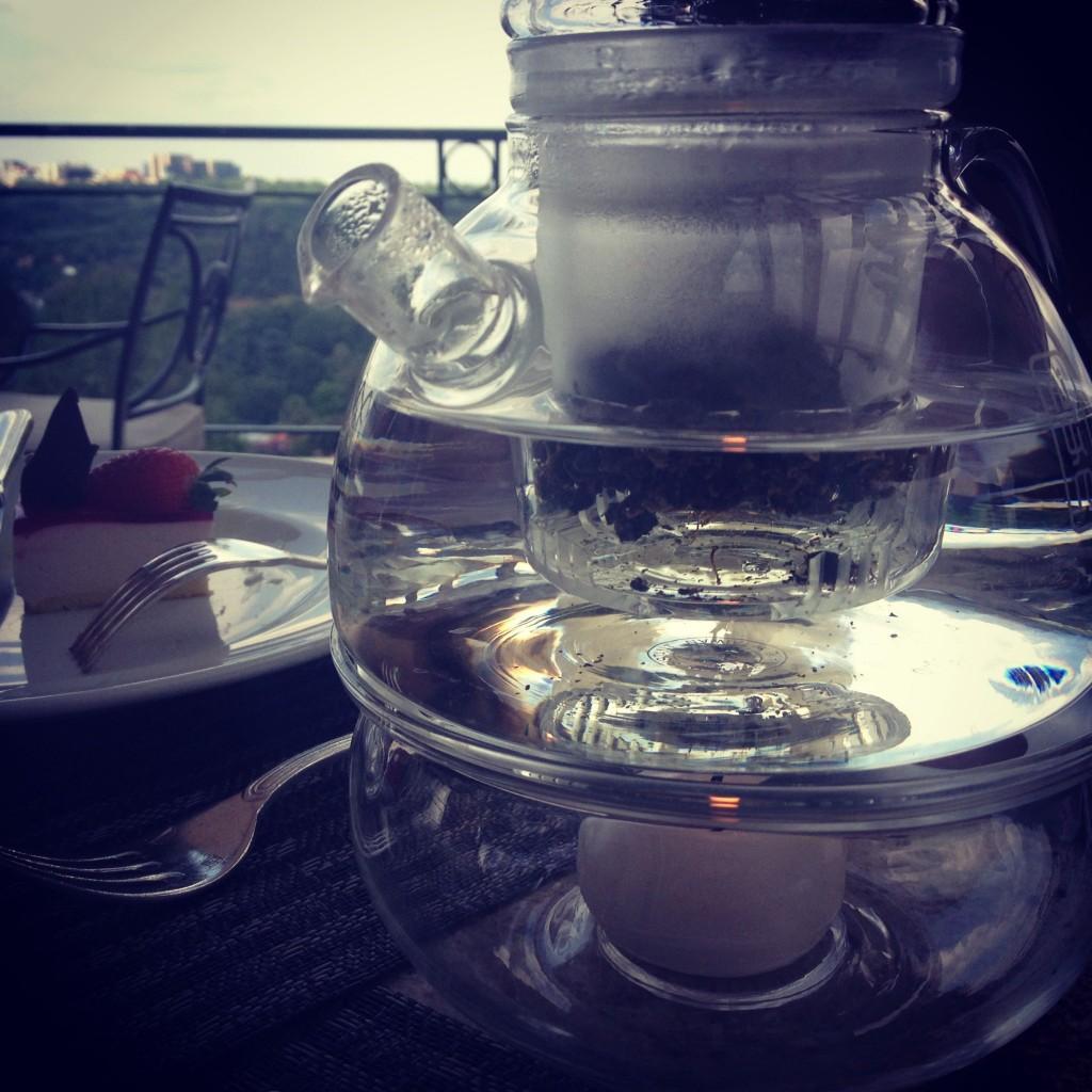 Tea, steeping