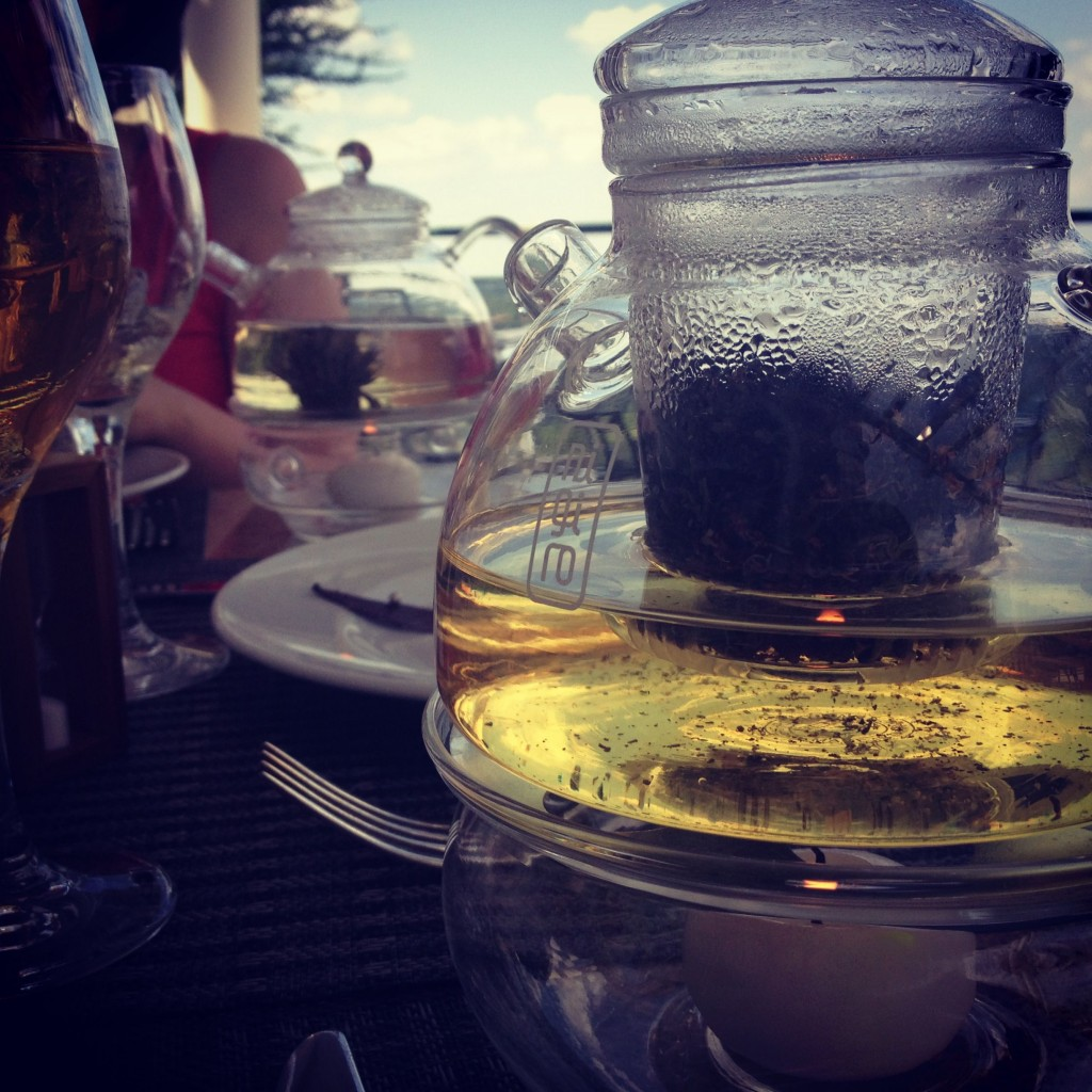 Tea, steeped