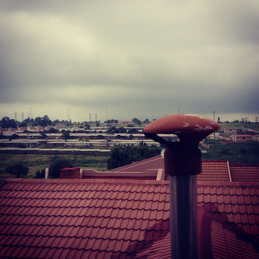 """Soweto """"hostels"""" - housing for laborers"""
