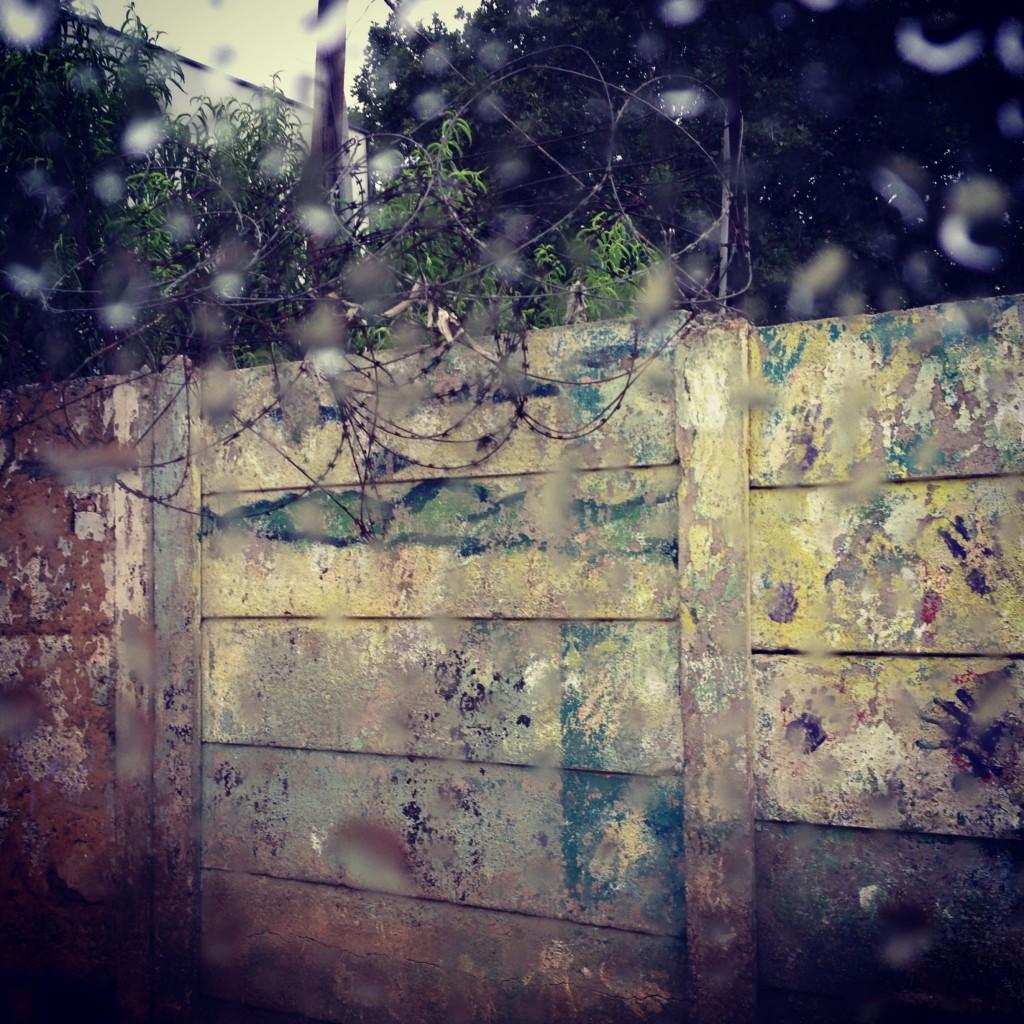 School wall, Soweto