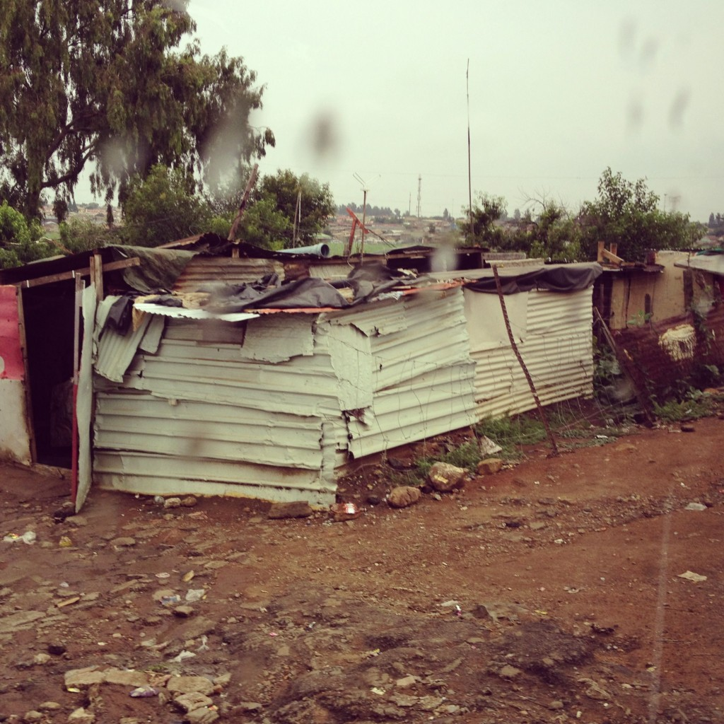 Soweto shanty house