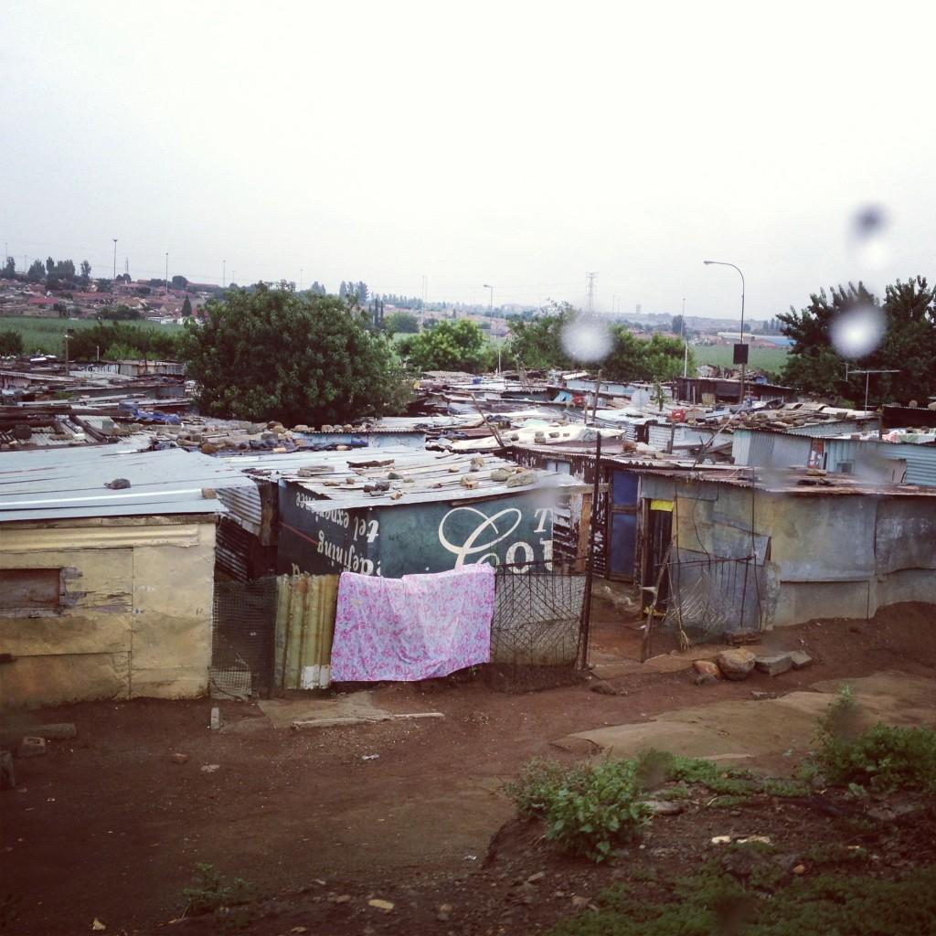 Soweto shanty town