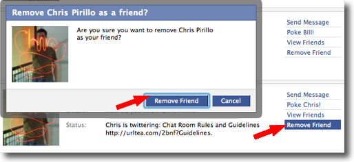 Poor Chris Birillo. He never saw it coming.