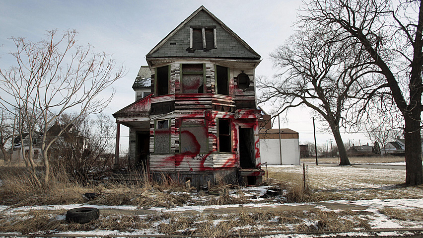 A house in Detroit