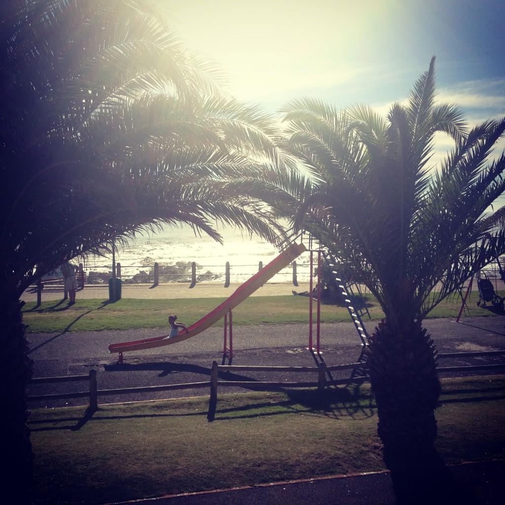 Beachside playground