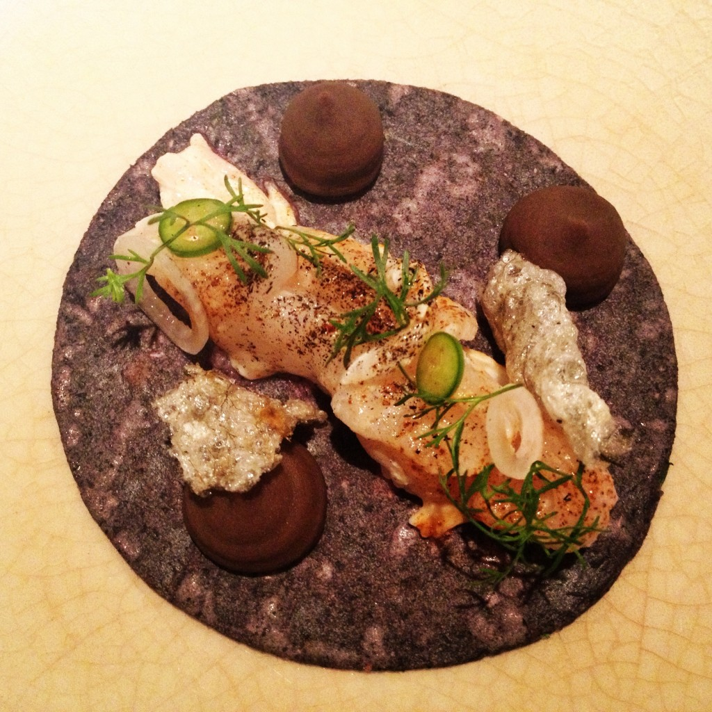 Tiny, very expensive, very cute fish taco