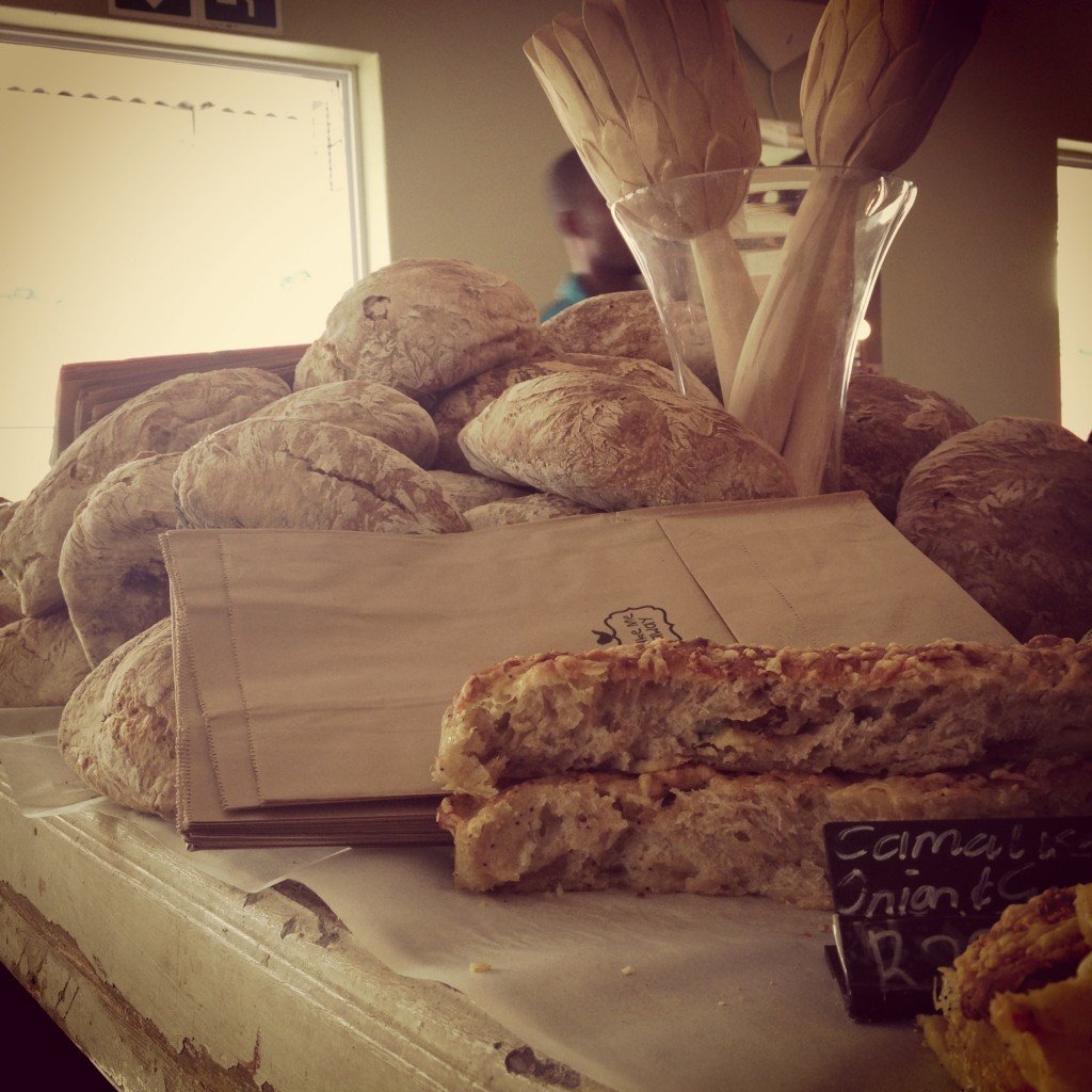 Bread at Vovo Telo - one of the best parts of Joburg