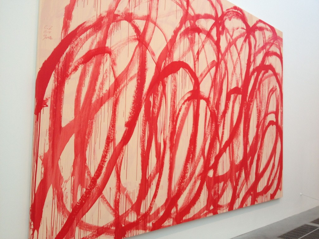 Cy Twombly (at the Tate Modern)