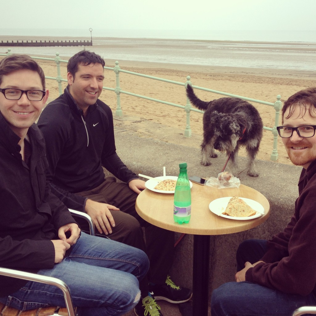 Breakfast at the beach, Portobello