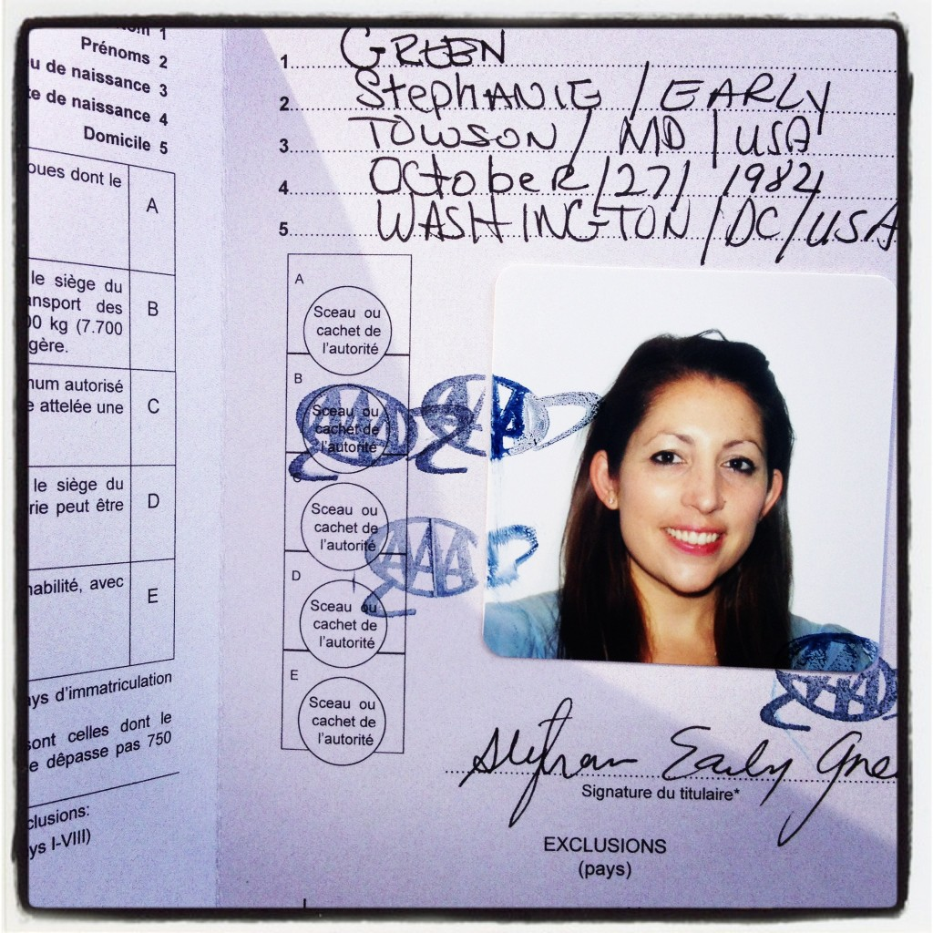 Have international driver's license; will travel.