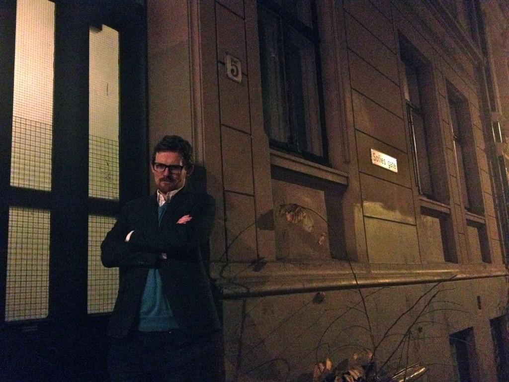 Outside Harry Hole's house