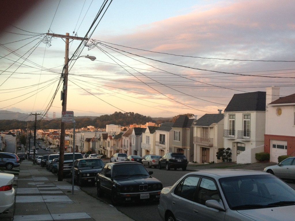 San Francisco, last winter