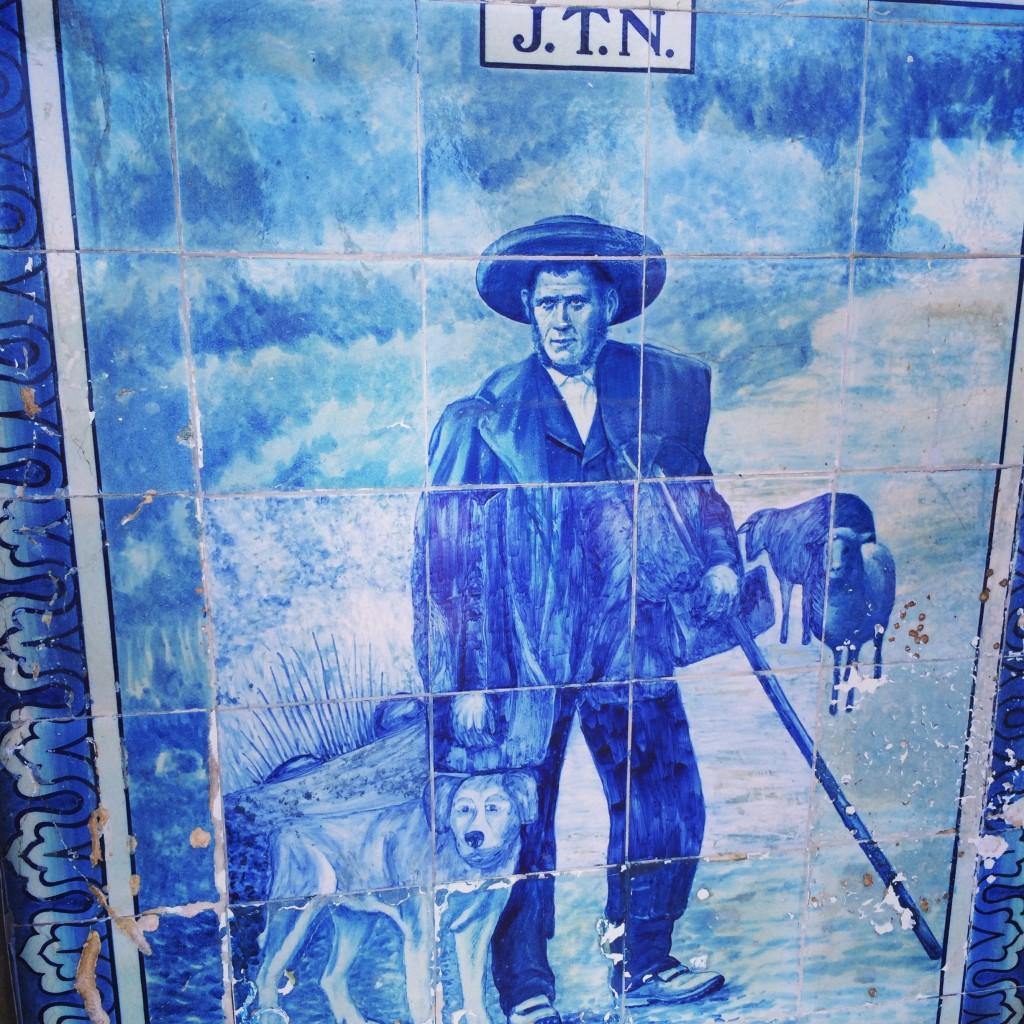 Azulejo, Nelas train station