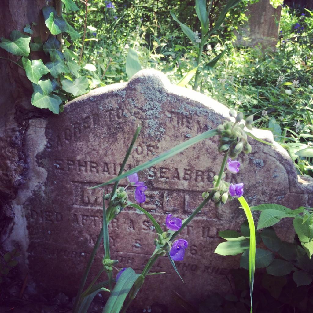 Gravestone at Unitarian Church