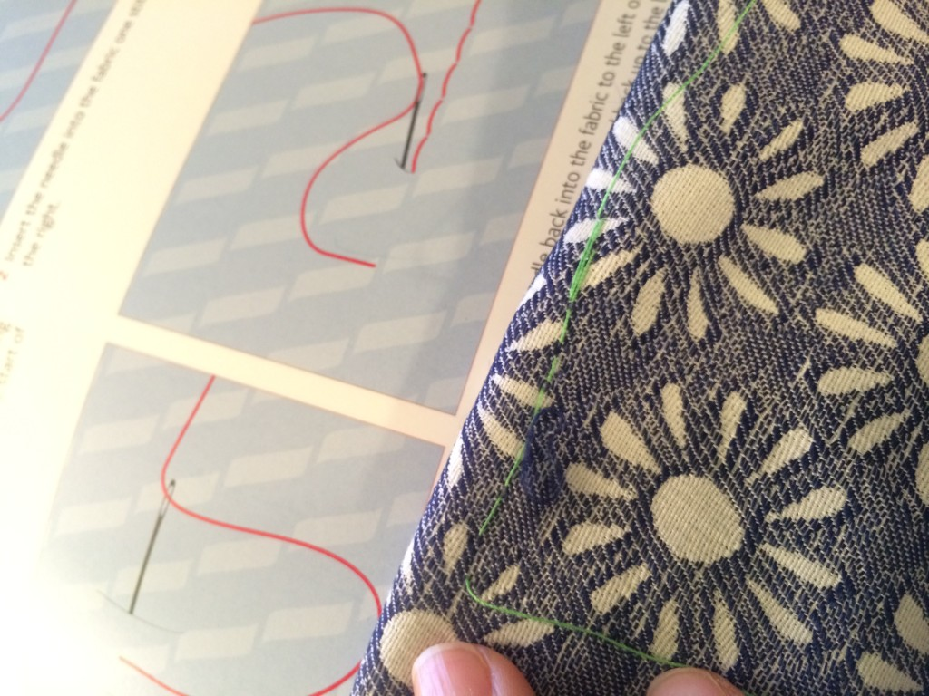 Look, Ma, I can backstitch!