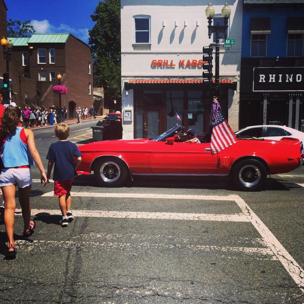 Patriotism, Georgetown
