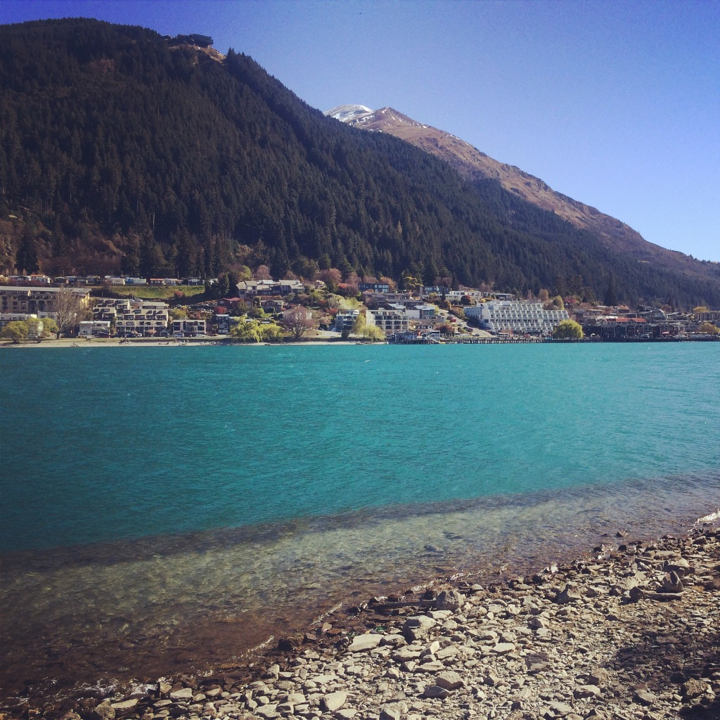 Taken during a run in Queenstown
