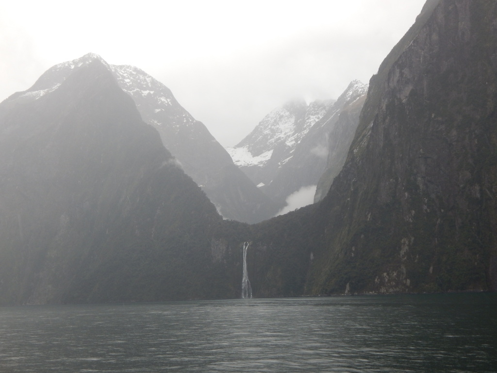 Waterfalls, Milford Sound